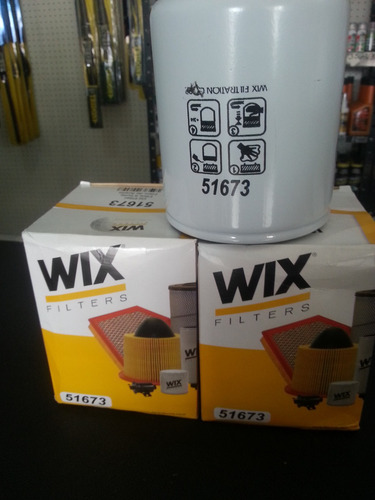 filtro aceite 51673 wix chevrolet npr 66l, fvr 33k, fsr isuz