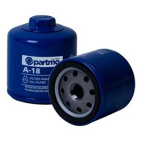 Filtro Aceite A18 Partmo.