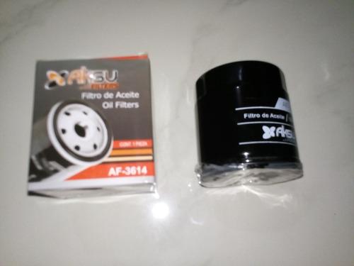 filtro aceite aksu af-3614 chery chevrolet ford wix 51348