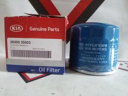 filtro aceite cerato sportage tucson elantra original 100%