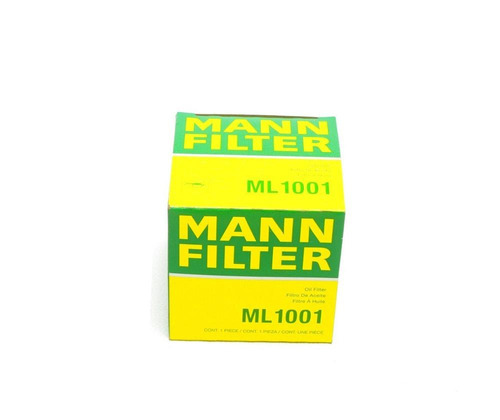 filtro aceite dodge ram 1500 2001 3.9 v6 mann ml1001