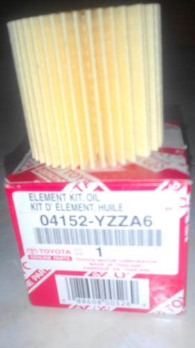 filtro aceite elemento corolla 2009-2016 original toyota