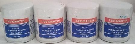 filtro aceite gm c10 c30 c1500 camaro pl-30 lee martin