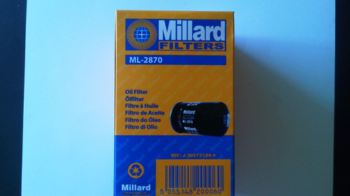 filtro aceite gol 1.6 1.8 ml-2870*