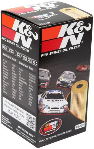 filtro aceite k & n elemento para ford escape 2.3l  2005