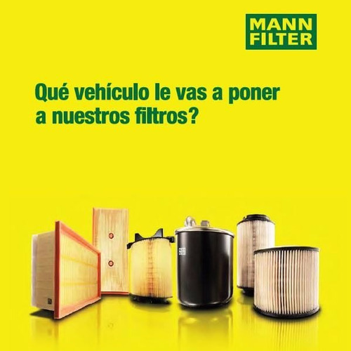 filtro aceite mann john deere 6130 (desde 2007)