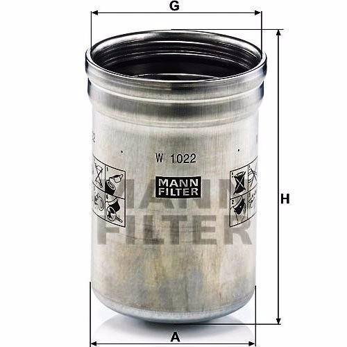 filtro aceite mann john deere 6830 (2006 - 2008)