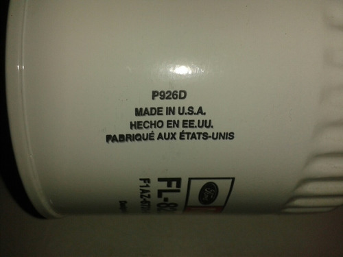 filtro aceite motor 4.6/5.4/explorer/triton/fortaleza org