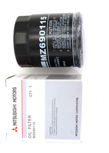 filtro aceite motor mitsubishi lancer cs3 ck1 ck2 cs6 signo