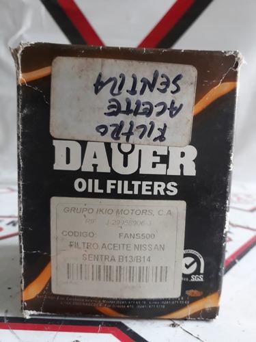 filtro aceite nissan sentra nuevo