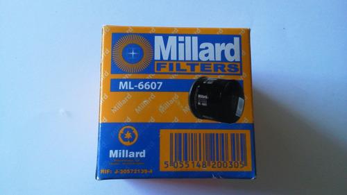 filtro aceite nissan sentra patrol laser festiva ml-6607*