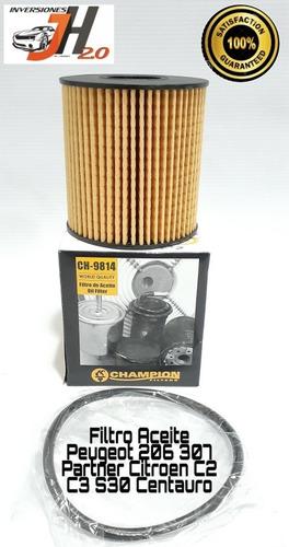 filtro aceite peugeot 206 207 307 408 partner tienda