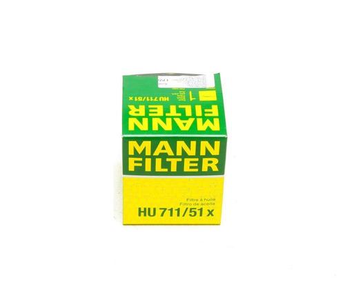 filtro aceite peugeot 306 2002 2.0 mann hu711/51x