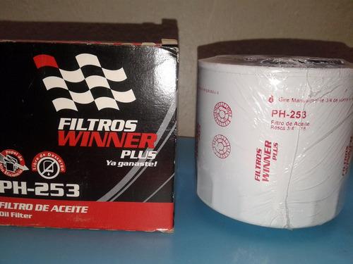 filtro aceite ph 253  pl-16 dakota 3.9- 5.2 ram.tempra 2.0