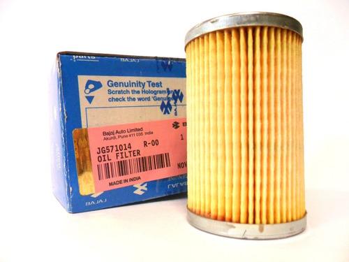 filtro + aceite rouser bajaj ns 200 original en ruta 3 motos
