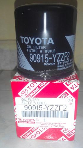 filtro aceite starlet-yaris-corolla-terios bego. original