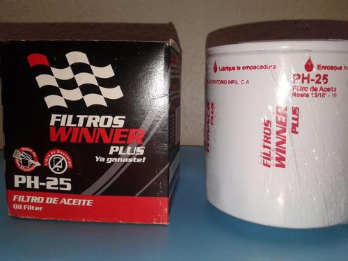 filtro aceite winner ph-25  jeep cj5; cj6
