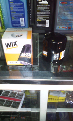 filtro aceite wix 51374 chery chevrolet ford toyota daewoo