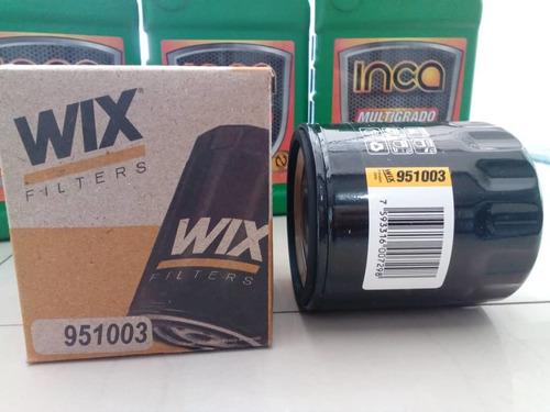 filtro aceite wix 951003 corsa aveo optra espero oferta
