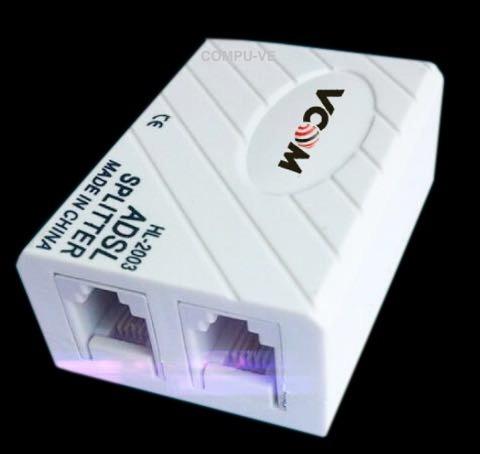 filtro adsl internet punto d venta telefono splitter vcom