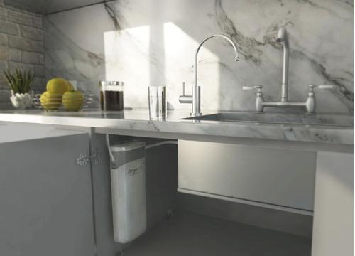 filtro agua argenfil purifica sabor olor bajomesada acero