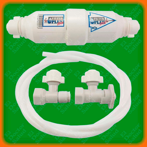 filtro agua filter plus+ multikit instalacion - ozono nevera