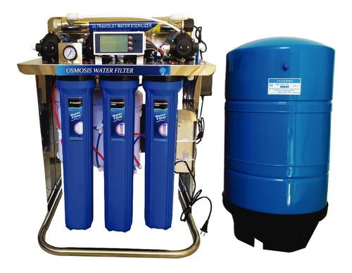 filtro agua ósmosis inversa 1600 gpd 5 etapas y tanque 20g