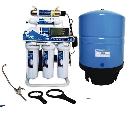 filtro agua osmosis inversa 200 gpd + tanque 11 galones