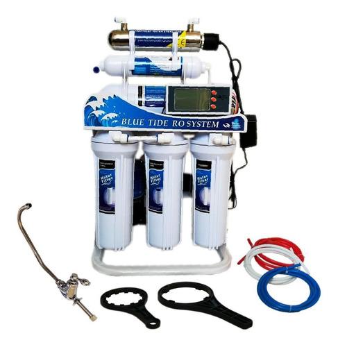 filtro agua ósmosis inversa ultravioleta uv 200gpd 6 etapas