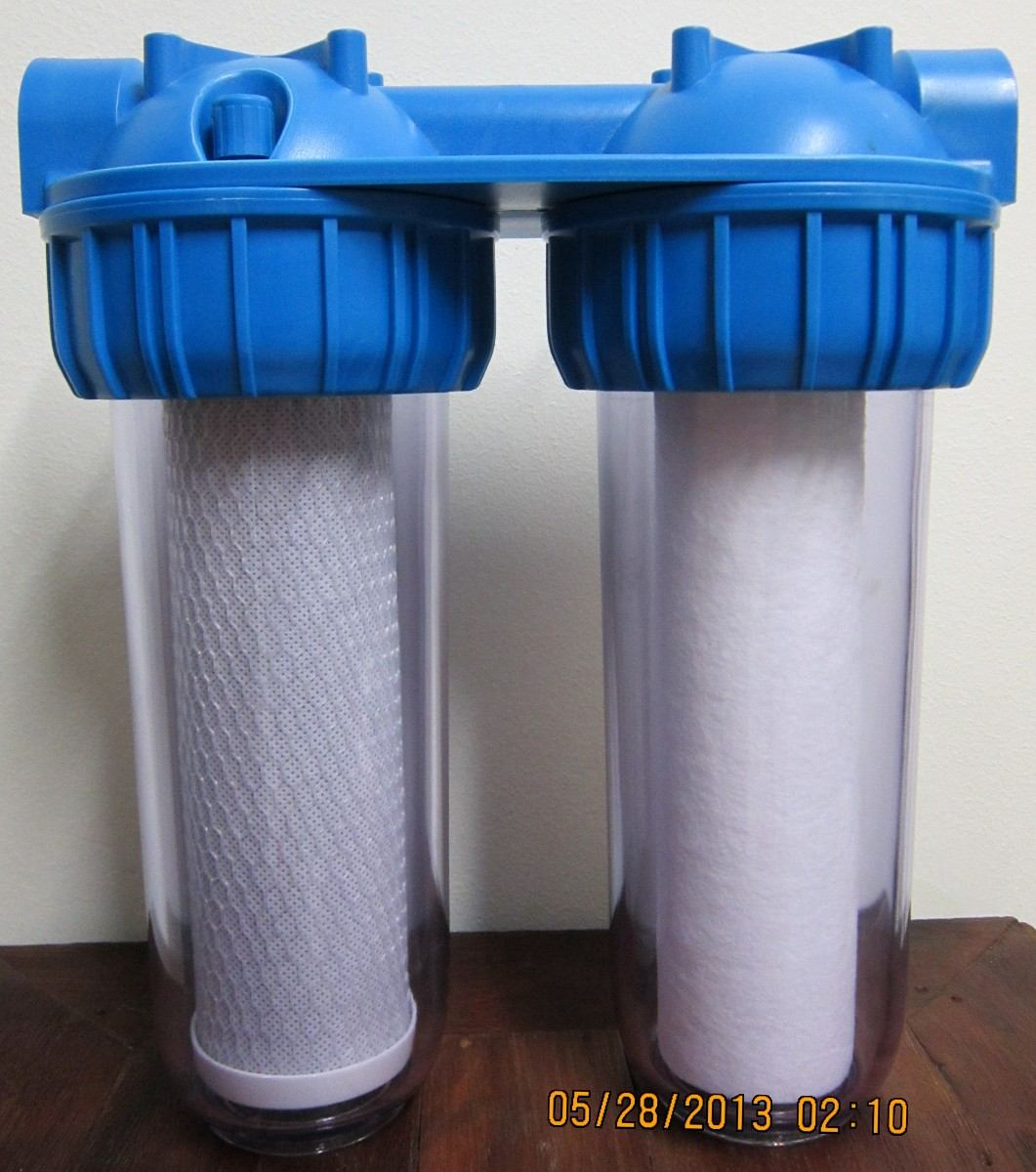 filtro agua purifica desclorifica para red entrada de casa