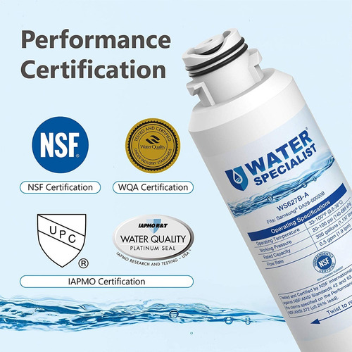 filtro agua refrigerador 3pza compatible samsung da29-00020