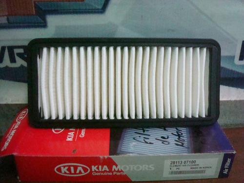 filtro aire acondicinado motor picanto original