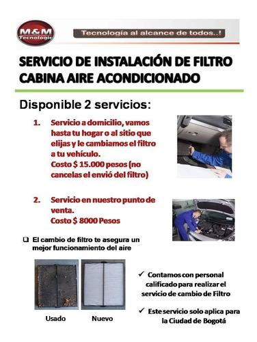 filtro aire acondicionado cabina renaul sandero