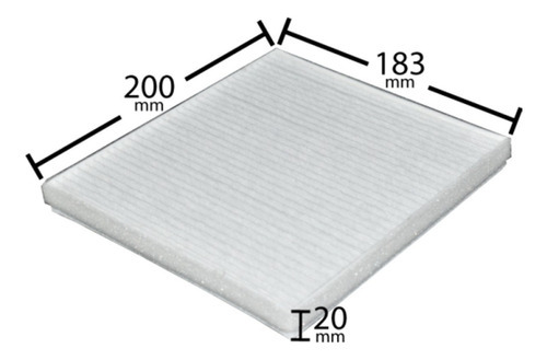filtro aire acondicionado chevrolet spark gt