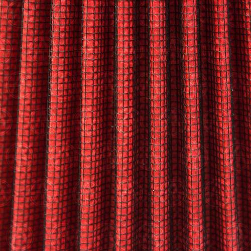 filtro aire alto flujo lavable universal rojo fibra carbón 3