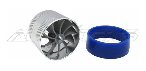 filtro aire alto flujo spin cromo + tornado turbo twister
