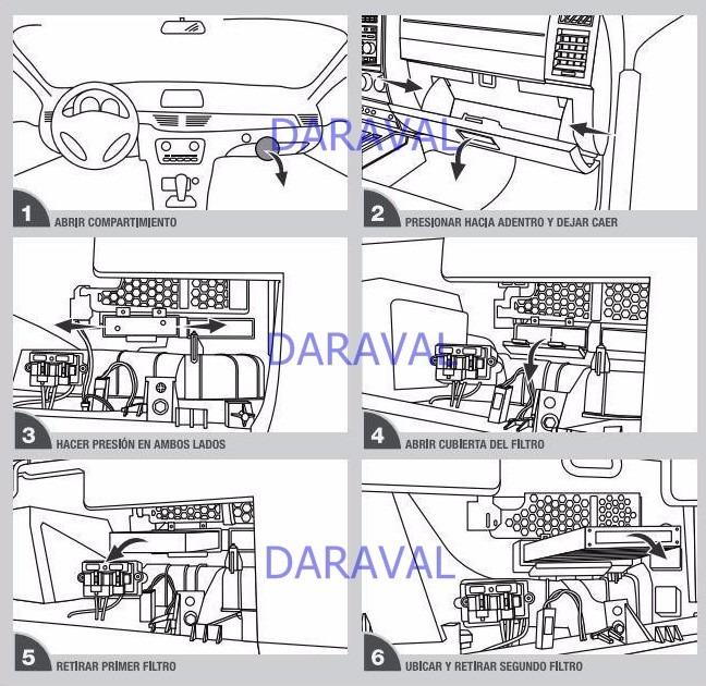 Filtro aire antipolen cabina jeep cherokee liberty mopar for Filtro cabina camaro 2016