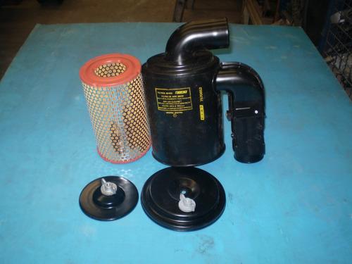 filtro aire  con carcaza chapa cilindr.fiat duna uno 1,4 1.6