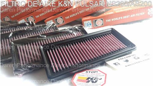 filtro aire k&n pulsar 200 ns 200 filtro kn k n pulsarns kyn
