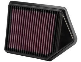 filtro aire k&n remplazo 33-2437 honda cr-v 2.4l 10-