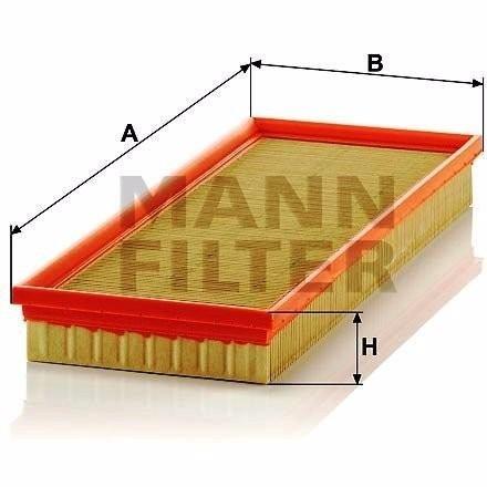 Mann Filter C40107 Filtro de Aire