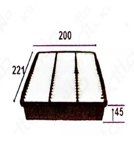 filtro aire mitsubishi lancer mx extra colt 1.8 ca5a cb4a