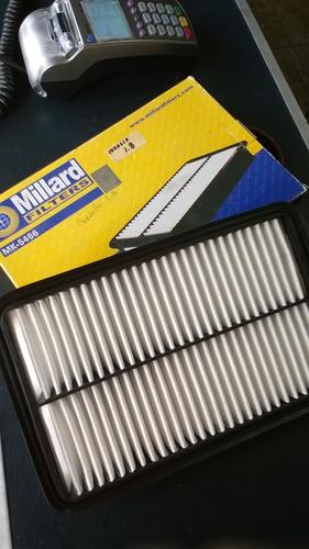 filtro aire motor corolla 1.8 fiesta 1.3