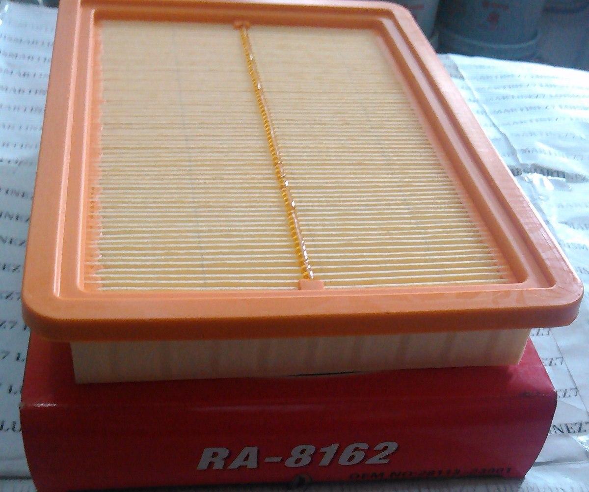 Filtro aire motor hyundai elantra 1 6 ra 8162 bs 0 27 for Filtro abitacolo hyundai elantra