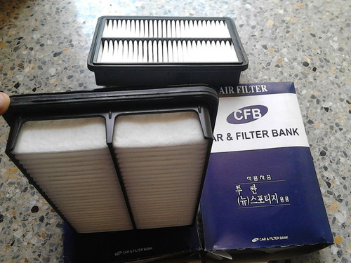 filtro aire motor para tucson hyundai.