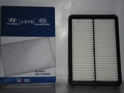 filtro aire motor tucson original detal