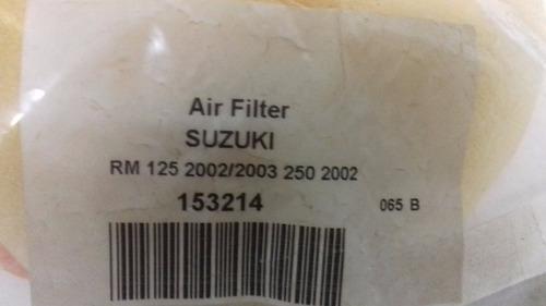 filtro aire para motocicleta