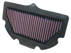 filtro aire reemplazo k&n su-7506 suzuki gsxr 750 600 06-