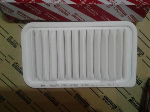 filtro aire terios modelo 2002-2007 toyota genuine