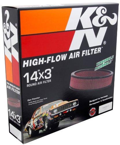 filtro alto flujo k&n cadillac eldorado 5.7l v8  1981-1985